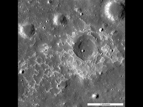 The feature called Maskelyne is one of many newly discovered young volcanic deposits on the Moon. Called irregular mare patches, these areas are thought to be remnants of small basaltic eruptions that occurred much later than the commonly accepted end of lunar volcanism, 1 to 1.5 billion years ago. (NASA/GSFC/Arizona State University)