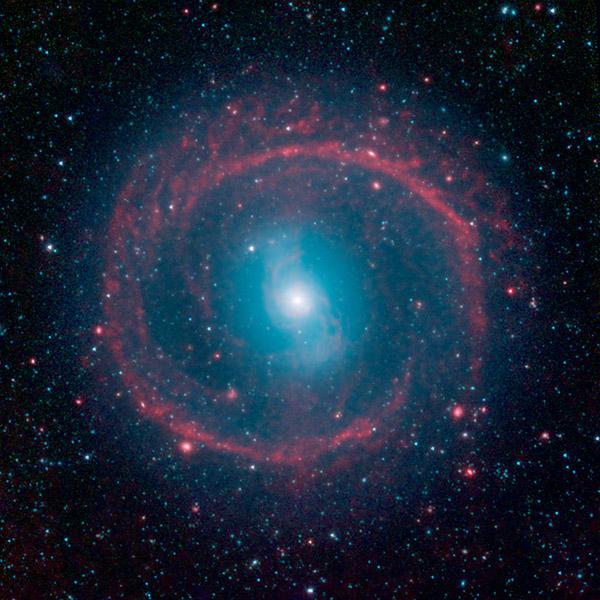 NASA's Spitzer Space Telescope captures image of distant ...