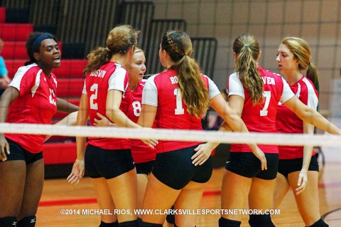 Rossview Lady Hawks Volleyball