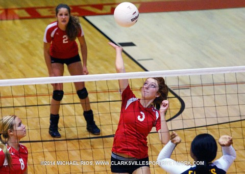 Rossview Lady Hawks Volleyball beats Northeast Lady Eagles Tuesday night.