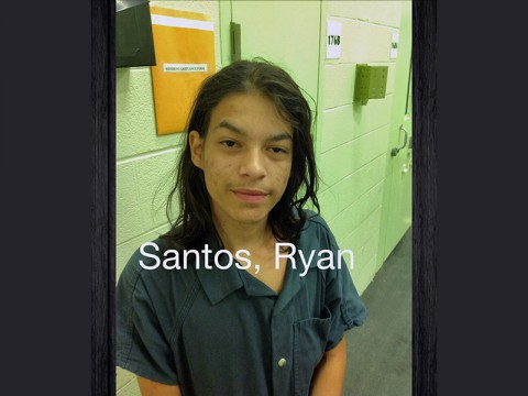 Escaped juvenile Ryan Santos captured in  Fredericksburg, Virginia.