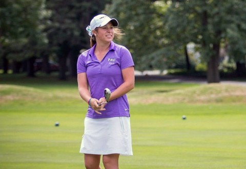 Trevecca's Alexa Rippy named G-MAC Women's Golfer of the Month. (TNU Sports Information)