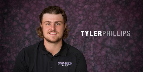 Tyler Phillips named G-MAC Men's Golfer of the Month. (TNU Sports Information)