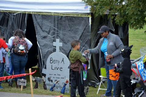 "More than 2,500 Soldiers and their families came out to enjoy fun attractions such as ""trunk-or-treating""."