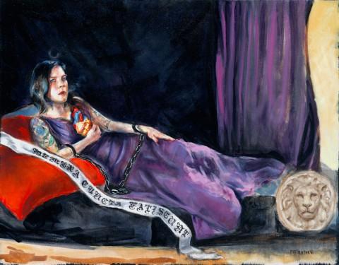Women Painting Women - Mroczek
