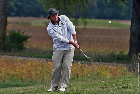 Austin Peay's Tucker Wallace leads Govs at F&M Bank APSU Intercollegiate. (APSU Sports Information)