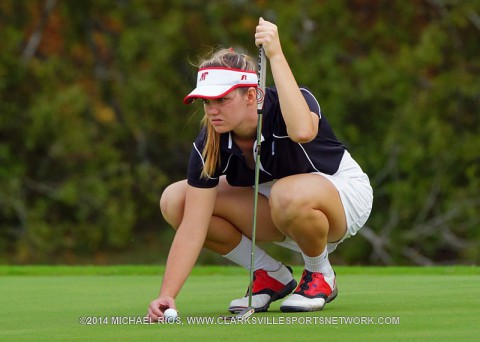 Austin Peay Women's Golf comes in fourth at F&M Bank APSU Intercollegiate. (APSU Sports Information)