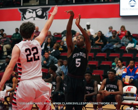 Rossview Hawks Basketball cruises to 27-17 win over West Creek Coyotes.