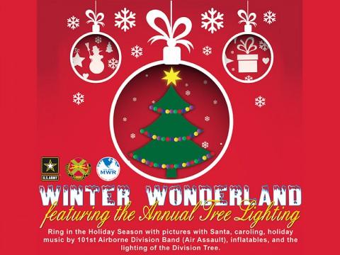 2014 Tree Light and Winter Wonderland