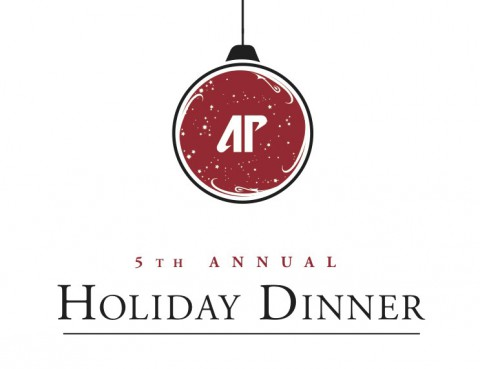 5th Annual Holiday Dinner set for December 5th and 6th.