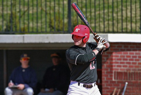 Austin Peay Baseball sophomore Cayce Bredlau went 2-for-4 on Wednesday. (APSU Sports Information)