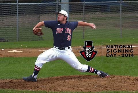 Austin Peay Baseball inks Brett Newberg of Moline, Illinois. (APSU Sports Information)