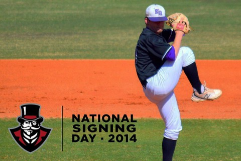 Austin Peay Baseball signs pitcher Austin Higginbotham. (APSU Sports Information)