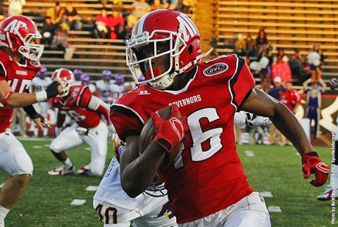 Austin Peay Football closes 2014 season with 41-15 loss to Tennessee Tech at Governors Stadium. (APSU Sports Information)