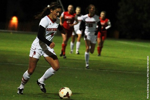 Austin Peay Lady Govs Soccer loses to Belmont 4-2. (APSU Sports Information)