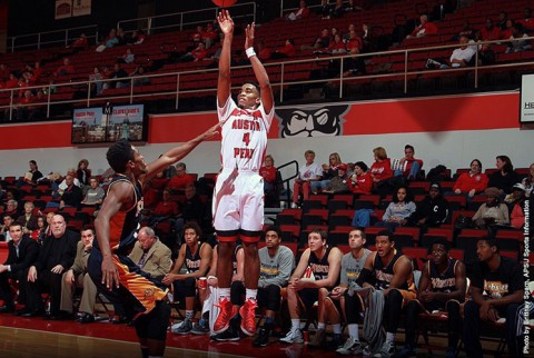 Austin Peay Governors Basketball drops opening game to Western Kentucky. (APSU Sports Information)