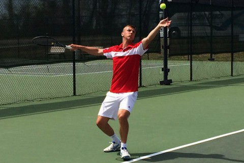 Austin Peay Tennis' Aleksas Tverijonas earns OVC Scholar-Athlete Award. (APSU Sports Information)