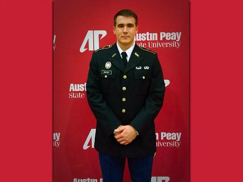Austin Peay State University ROTC Cadet Andrew Shriver