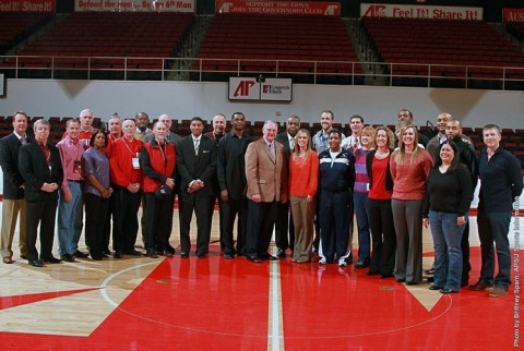 The first Basketball Reunion last February. (APSU Sports Information)