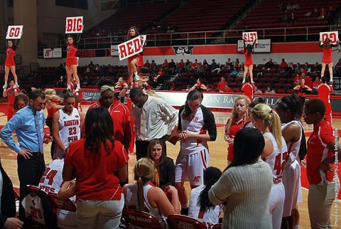 Austin Peay Women's Basketball falls at Evansville 72-68. (APSU Sports Information)