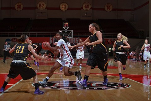 Austin Peay Women's Basketball loses 73-60 to Oral Roberts. (APSU Sports Information)