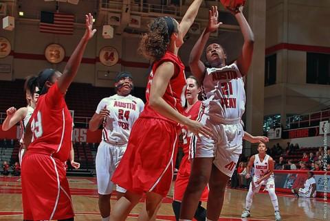 Austin Peay Lady Govs Basketball. (APSU Sports Information)
