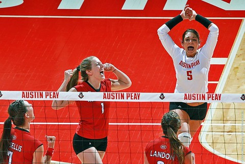 Austin Peay Women's Volleyball on the road this weekend seeking Tournament berth. (APSU Sports Information)