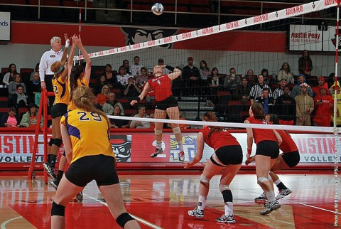 Austin Peay Lady Govs Volleyball. (APSU Sports Information)