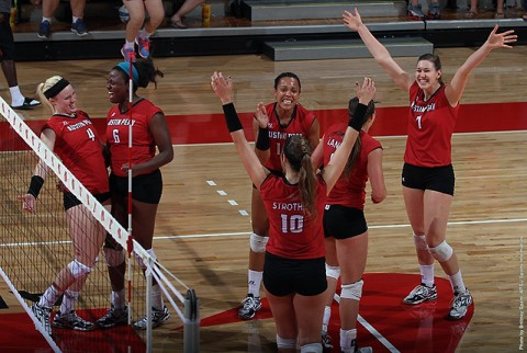 Austin Peay Lady Govs Volleyball head to Murray KY for OVC Championship. (APSU Sports Information)