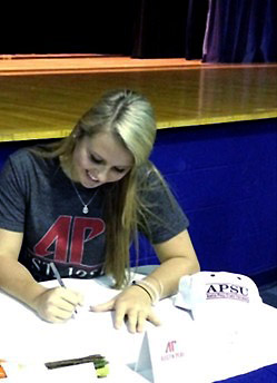Amanda Radich. (APSU Sports Information)
