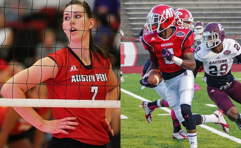 Austin Peay Lady Govs Volleyball and Governors Football wrap up their seasons this week.