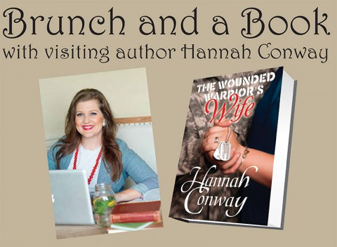 Come out to Brunch and a Book with local author Hannah Conway November 18th.