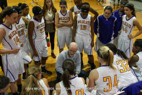 Clarksville High Girl's Basketball loses to Gallatin 60-50 Tuesday night.