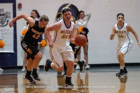 Clarksville High Girl's Basketball Falls to Hendersonville 53-43.