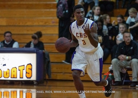 Clarksville High Boy's Basketball gets last second win over Gallatin.
