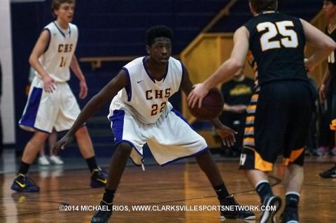 Clarksville High Boy's Basketball beats Hendersonville 59-41.