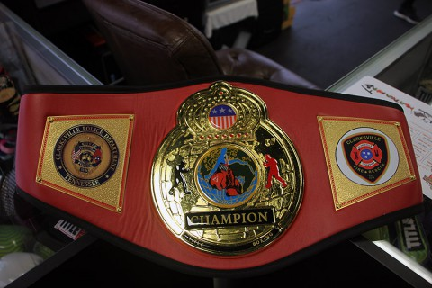 Heavy Weight Championship Belt to be given to winning department.
