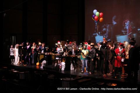 The 2014  APSU Halloween  Concert
