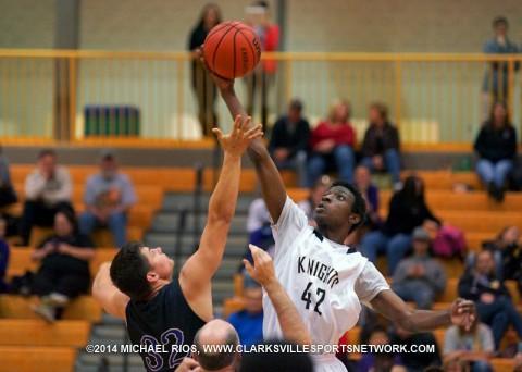 Kenwood Boy's Basketball beats Community 70-37. (Michael Rios - Clarksville Sports Network)