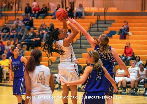 Kenwood Girl's Basketball falls to Community 75-56. (Michael Rios - Clarksville Sports Network)