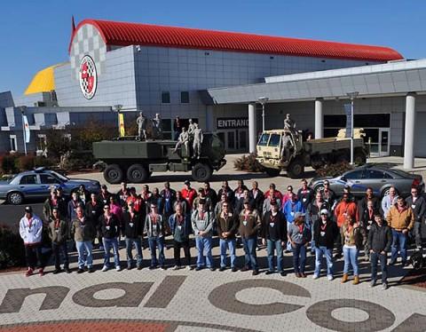 National Corvette Museum Celebrates Military Appreciation Month