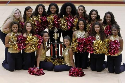 Northeast High School 1st place dance. (Lois Jones)