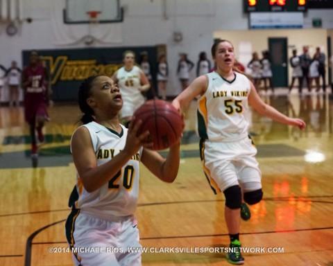 Northwest Girl's Basketball gets 70-54 win over Maplewood.
