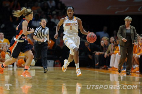 UT Lady Vols prepare for Penn on Friday night at Thompson-Boling Arena (UTSports.com)