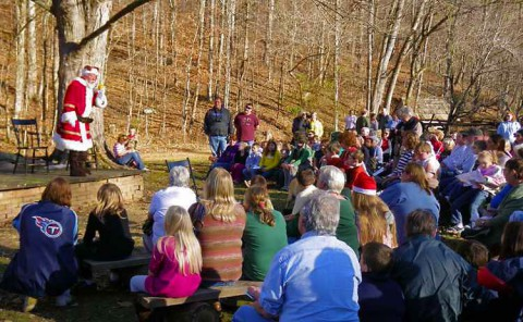 The Homeplace 1850's Christmas program. (Land Between the Lakes)