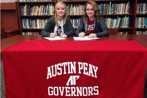 Austin Peay Women's Golf signs twin sisters Taylor and Ashton Goodley. (APSU Sports Information)