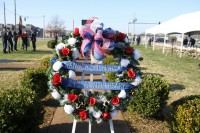 Screaming Eagle families gathered in remembrance of the 248 Soldiers who lost their lives at Gander during Fort Campbell's memorial ceremony at 10:30 a.m. Friday, December 12th 2014 (Sgt. 1st Class Eric Abendroth/U.S. Army)