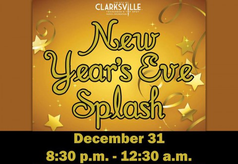 New Years Eve Splash