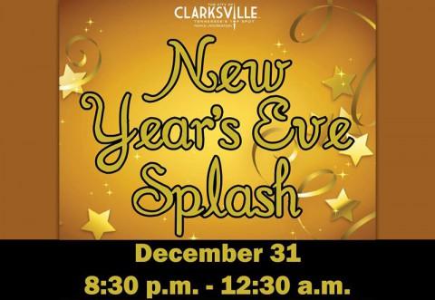New Years Eve Splash