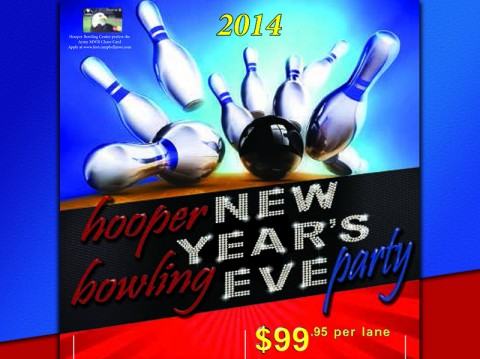 Enjoy New Year's Eve at Fort Campbell's Hooper Bowling Center